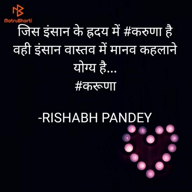 Hindi Microfiction by RISHABH PANDEY : 111586084
