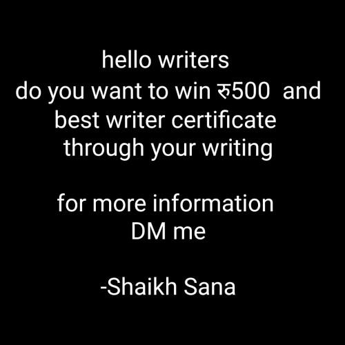 Post by Shaikh Sana on 23-Oct-2020 10:06pm