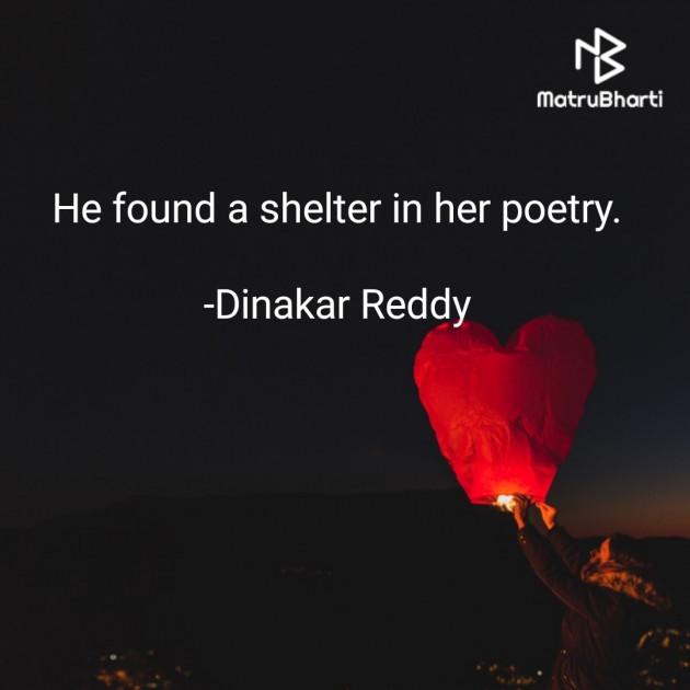 English Whatsapp-Status by Dinakar Reddy : 111693066