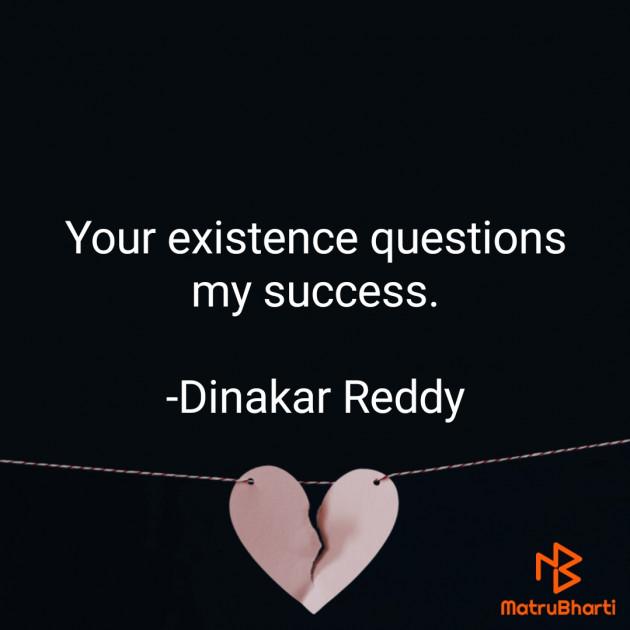 English Whatsapp-Status by Dinakar Reddy : 111694464