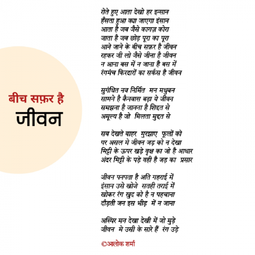Post by ALOK SHARMA on 03-May-2021 11:52pm