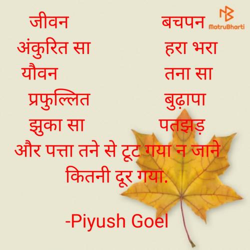 Post by Piyush Goel on 09-Jun-2021 09:58am
