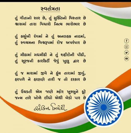 Post by Chandani Gadhia on 15-Aug-2021 01:12am