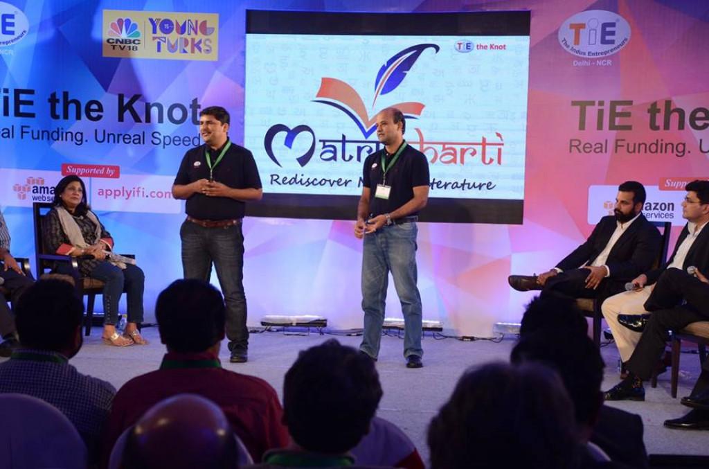 Young Turks CNBC 18 Tie Delhi